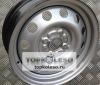 подобрать и купить штампованный диск Trebl на Hyundai Solaris / KIA Rio (S) 6x15 4x100 ET48 54,1 в Красноярске