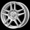 диск K7 Крузо (серебро) 6x15 4x98 ET30 58,5