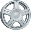 диск КиК Торус (КС409-00) 5,5х14 ЕТ 35 4х98 x 58,5 сильвер