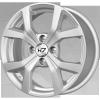 Диск K7 Каспиан (серебро) 6x15 4x100 ЕТ40 60,1