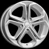 Реплика КиК КС674 (16_Astra J) (сильвер) 6,5x16 5x105 ET39 56,6