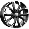 Реплика КиК КС740 (17_Mazda CX-5) (алмаз черный) 7x17 5x114,3 ET50 67,1