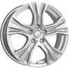 Диск Реплика КиК КС673 (ZV 17_Audi A4) (сильвер) 7x17 5x112 ЕТ46 66,6